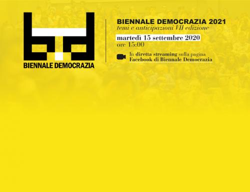 Verso Biennale Democrazia 2021